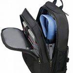 """SAMSONITE LAPT.Backpack/WH 15""""-16"""" (Black) -GUARDIT Sac à Dos Loisir, 51 cm, Noir de la marque Samsonite image 1 produit"""