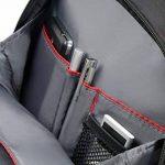 """SAMSONITE LAPT.Backpack/WH 15""""-16"""" (Black) -GUARDIT Sac à Dos Loisir, 51 cm, Noir de la marque Samsonite image 4 produit"""