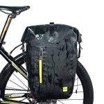 Selighting 25L Sac Porte-Bagages de Vélo Sacoche pour arrière de Bicyclette Sac de Rangement arrière de Transport Vélo Résistant à l'eau pour VTT Cyclisme Noir de la marque Selighting image 1 produit
