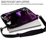 Sidorenko Sacoche pour Ordinateur Portable 15-15,6 pouces Sac a Epaule Bandoulière, avec des poches latérale de la marque Sidorenko image 2 produit