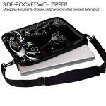 Sidorenko Sacoche pour Ordinateur Portable 17-17,3 Pouces Sac a Epaule Bandoulière, avec des Poches Latérale de la marque Sidorenko image 2 produit
