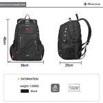Soarpop BB4348MBK Sac à Dos pour Ordinateur Portable 15.6 Pouces Noir de la marque Soarpop image 2 produit