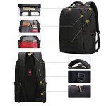 Soarpop WB4387MBK Sacs à Dos pour Ordinateur Portable 17.3 Pouces, Sac Homme, Sac Dos d'affaires de la marque Soarpop image 4 produit