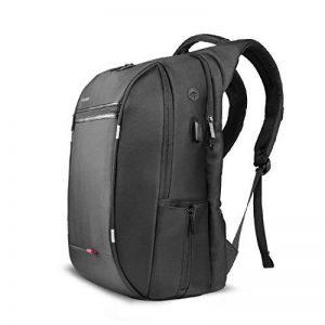 SPARIN Sac à Dos, Sacoche Ordinateur Portable 15.6 Pouces Laptop Backpack avec [Port USB], Sac à Dos d'affaires pour Hommes et Femmes [ Cachette Anti-vol ] [Multi-Fonctionnel], Noir de la marque SPARIN image 0 produit