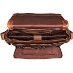 STILORD 'Rick' Vintage Sac en Bandoulière Cuir Unisexe Design Sac pour Ordinateurs Portables 15.6 Pouces Laptop Serviette en Cuir de la marque STILORD image 2 produit