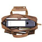 STILORD 'Ron' Vintage Sacoche Cuir pour PC Portable 15.6 Pouces Sac à Bandoulière XL pour Travail Business Université en Cuir véritable de la marque STILORD image 4 produit