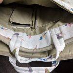 TaylorHe Sacoche de la poignée bandoulière en pour Ordinateur Portable 15 pouces/15,6 pouces, avec des poches, poignées et bretelles Oiseaux, vert de la marque TaylorHe image 3 produit