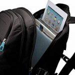 """THULE TCBP115K Sac à Dos Nylon pour Ordinateur Portable 15,6""""/Tablette 10,1"""" Noir de la marque Thule image 4 produit"""