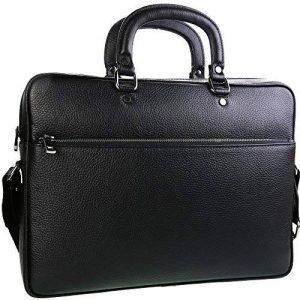 TK 1979 - Sac à main HOMME Sac d'affaires en cuir - PL4056 Cartable porte-documents, sac à bandoulière 40 x 28 cm de la marque TK 1979 image 0 produit