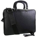 TK 1979 - Sac à main HOMME Sac d'affaires en cuir - PL4056 Cartable porte-documents, sac à bandoulière 40 x 28 cm de la marque TK 1979 image 1 produit