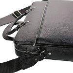TK 1979 - Sac à main HOMME Sac d'affaires en cuir - PL4056 Cartable porte-documents, sac à bandoulière 40 x 28 cm de la marque TK 1979 image 4 produit