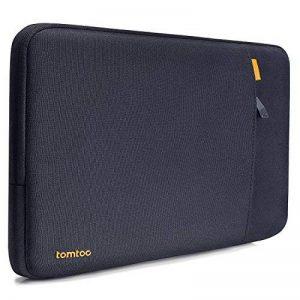 tomtoc Housse de Protection à 360° pour 13 Pouces Nouveau MacBook Pro A1706/A1708| Dell xps 13 Sacoche Ordinateur Portable11.6 Pouces Bleu Noir de la marque tomtoc image 0 produit