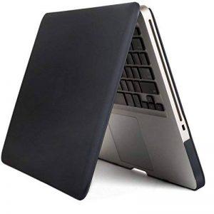 Étui MacBook, Housse Rigide Caoutchoutée pour Apple MacBook Pro 15 pouces (Non Rétina) Sacoche pour ordinateur portable Coque Qui se Clique s'Adapte au Modèle A1286 (noir) de la marque BSL image 0 produit