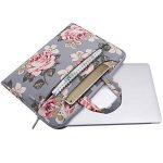 TZZ Laptop Sac à bandoulière Porte-Documents, Rose Pattern Laptop épaule Messenger Sac à Main Case Cover Sleeve pour 14-19 Pouces 2018 / New Notebook Computer Bag de la marque TZZ image 1 produit