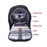 UBaymax Sac pour Ordinateur Portable 15,6 Sac antivol avec USB Charging Port Sac d'affaires Sac PC pour Hommes et Femmes de la marque UBaymax image 3 produit