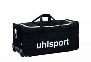 uhlsport BASIC LINE 110 L SAC A ROULETTES - Sac à roulettes - Grande Contenance - Bandoulière Ajustable - noir/blanc de la marque uhlsport image 0 produit