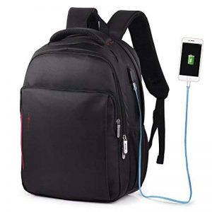 VBIGER Sac à Dos pour Ordinateur Portable Etanche Antivol avec Câble USB et Port de Charge de la marque VBIGER image 0 produit