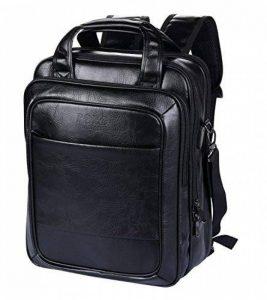 VIDENG POLO Sac à dos pour ordinateur portable Cuir Entreprise Voyage École Des sacs pour 13 15 17 pouces de la marque VIDENG POLO image 0 produit