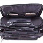VIDENG POLO Sac à dos pour ordinateur portable Cuir Entreprise Voyage École Des sacs pour 13 15 17 pouces de la marque VIDENG POLO image 4 produit