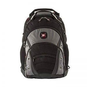 """Wenger 600635 SYNERGY 16"""" Laptop Backpack, compartiment pour ordinateur portable rembourré avec iPad/tablette / eReader de poche en noir / gris {26 Litres} de la marque Wenger image 0 produit"""