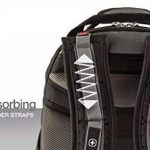 """Wenger 600635 SYNERGY 16"""" Laptop Backpack, compartiment pour ordinateur portable rembourré avec iPad/tablette / eReader de poche en noir / gris {26 Litres} de la marque Wenger image 4 produit"""
