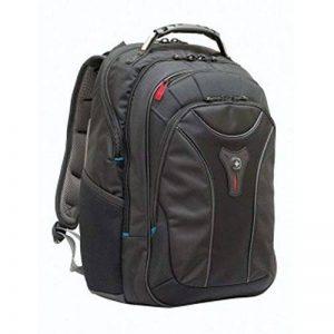 """Wenger 600637 Carbon 17"""" MacBook Pro sac à dos, compartiment pour ordinateur portable rembourré avec plate-forme de stabalising cas en noir {25 Litres} de la marque Wenger image 0 produit"""