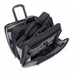 """Wenger 600661 POTOMAC 17"""" 2 pièces Business à roues Laptop Briefcase, compartiment pour ordinateur portable rembourré assortis 15.4"""" Laptop Case en noir {23 Litres} de la marque Wenger image 1 produit"""