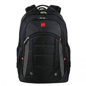 """Winkee SA9360 Sac à Dos pour Ordinateur Portable 15,6"""", Sac Dos Hommes Collège Noir de la marque Soarpop image 0 produit"""