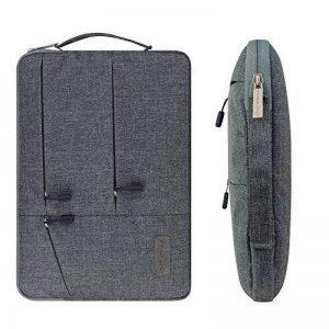 Yarrashop [13-13,3 Pouces] Laptop Sleeve/MacBook Air/MacBook Pro/MacBook Pro Retina 13 Sacoche Ordinateur Portable 13,3 Pouces (Gris) de la marque Yarrashop image 0 produit