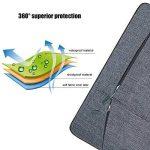 Yarrashop [13-13,3 Pouces] Laptop Sleeve/MacBook Air/MacBook Pro/MacBook Pro Retina 13 Sacoche Ordinateur Portable 13,3 Pouces (Gris) de la marque Yarrashop image 3 produit