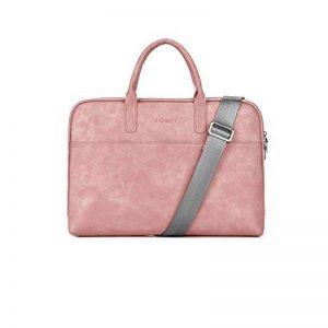 Zetiy Sac à bandoulière Sacoche Housse Pochette pour Ordinateurs Portables (14 pouces, Rose) de la marque Zetiy image 0 produit
