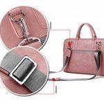 Zetiy Sac à bandoulière Sacoche Housse Pochette pour Ordinateurs Portables (14 pouces, Rose) de la marque Zetiy image 3 produit
