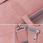 Zetiy Sac à bandoulière Sacoche Housse Pochette pour Ordinateurs Portables (14 pouces, Rose) de la marque Zetiy image 4 produit