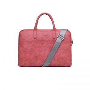 Zetiy Sac à bandoulière Sacoche Housse Pochette pour Ordinateurs Portables (15 pouces, Rouge) de la marque Zetiy image 0 produit
