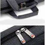 """Zetiy Sac à Dose en Nylon Sacoche pour Ordinateur Portable 13-17 pouces (17"""", Gris) de la marque Zetiy image 4 produit"""